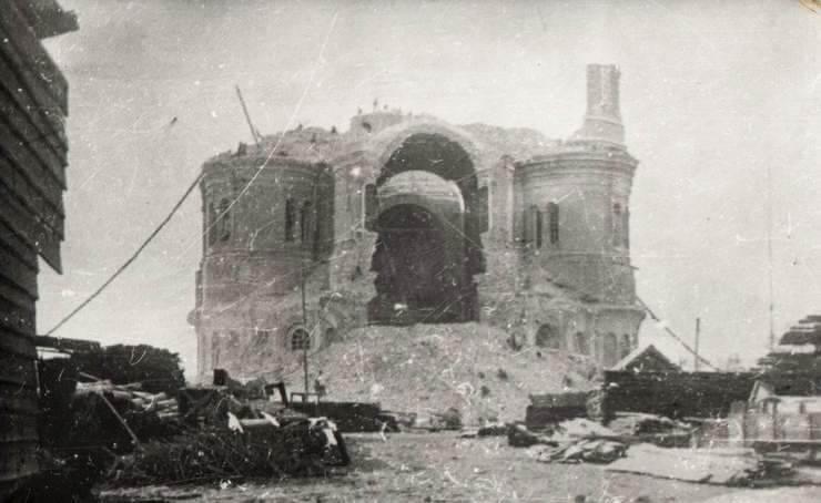 разрушенный в 1934г. самарский кафедральный собор
