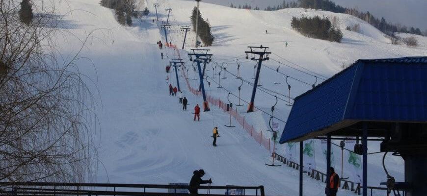 Хвалынский горнолыжный курорт