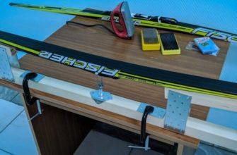 подготовка лыж